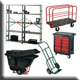 Commercial Janitorial Equipment - Commercial Materials Handling & Storage Products