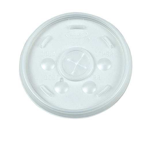 Plastic Cups With Lids : Dart plastic lid for hot cold foam cups sku dcc sl