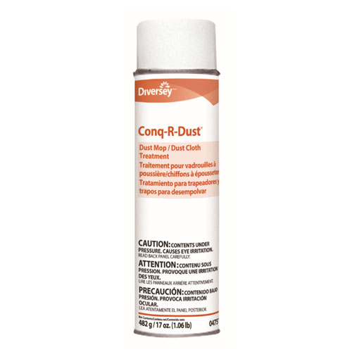 Diversey Conq-r-Dust Dust Mop-Dust Cloth Treatment SKU#DRK04751, Diversey Conq-r-Dust Dust Mop-Dust Cloth Treatment SKU#DRK04751