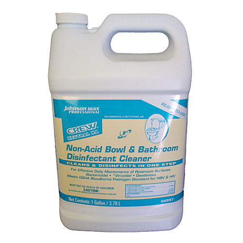 Crew Non-Acid Bathroom-Bowl Disinfectant Cleaners SKU#DRKJW04997, Crew Non-Acid Bathroom-Bowl Disinfectant Cleaner SKU#DRKJW04997