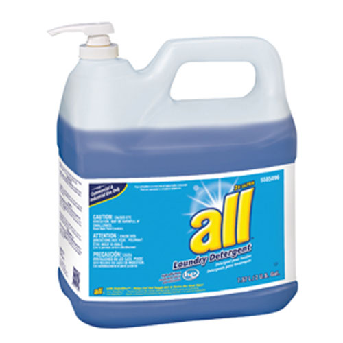 ALL Concentrated Liquid Laundry Detergent 2 Gallon Pump Bottle SKU#DRK5585896, Diversey ALL Concentrated Liquid Laundry Detergent 2 Gallon Pump Bottle SKU#DRK5585896