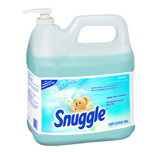 Snuggle Liquid Fabric Softener 2 Gallon Pump Bottle SKU#DRK5585917, Diversey Snuggle Liquid Fabric Softener 2 Gallon Pump Bottle SKU#DRK5585917