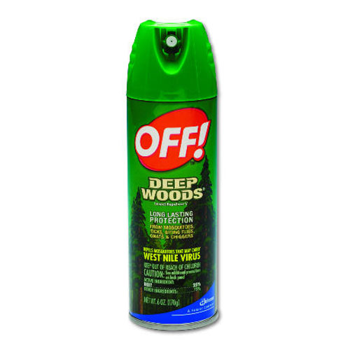 Off! Deep Woods Aerosol 6 Oz SKU#DRKCB018425, Diversey Off! Deep Woods Aerosol 6 Oz SKU#DRKCB018425