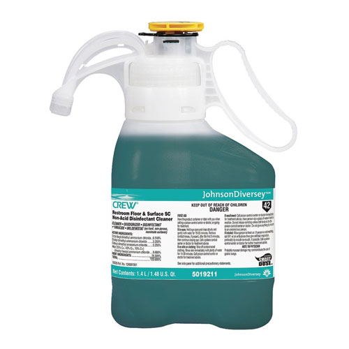Diversey Crew NA SC Restroom Floor & Surface Disinfectant Cleaner SKU#Diversey-5019211, Diversey Crew NA SC Restroom Floor & Surface Disinfectant Cleaner SKU#Diversey-5019211