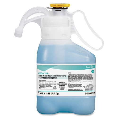 Diversey Crew NA Bowl And Bathroom Disinfectant Cleaner SKU#Diversey-5019237, Diversey Crew NA Bowl And Bathroom Disinfectant Cleaner SKU#Diversey-5019237