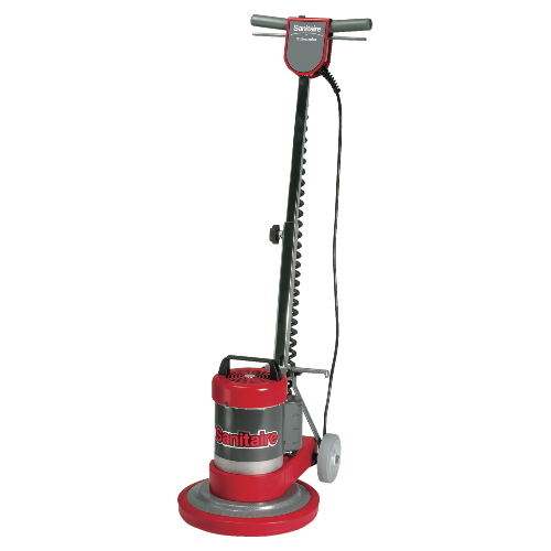 Sanitaire sc6001 compact 12 inch floor machine sku eur6001 for 15 inch floor buffer