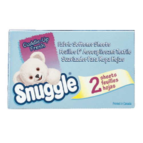Snuggle Fabric Softener Sheets SKU#DRK2979929, Diversey Snuggle Fabric Softener Sheets SKU#DRK2979929