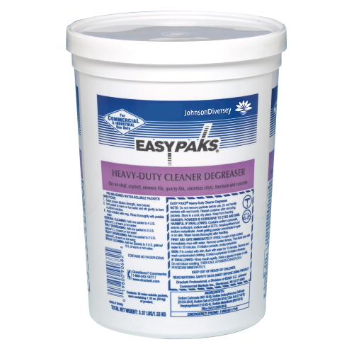 Easy Paks Heavy-Duty Cleaner-Degreaser SKU#DRK90682, Diversey Easy Paks Heavy-Duty Cleaner-Degreaser SKU#DRK90682