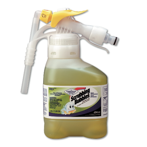 Scrubbing Bubbles Super Concentrated Bathroom Cleaner RTD SKU#93719563, Diversey Scrubbing Bubbles Super Concentrate Bathroom Cleaner RTD SKU#93719563