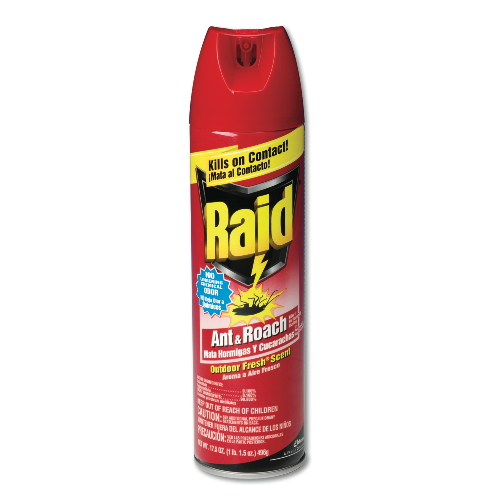 Raid Ant And Roach Killer SKU#DRK94400, Diversey Raid Ant And Roach Killer SKU#DRK94400