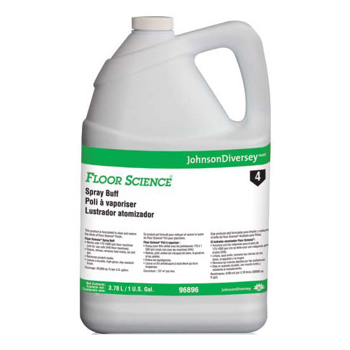 Floor Science Spray Buff SKU#DRK96896, Diversey Floor Science Spray Buff SKU#DRK96896