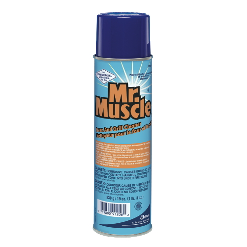 Mr Muscle Oven And Grill Cleaner SKU#991206, Diversey Mr Muscle Oven And Grill Cleaner SKU#991206