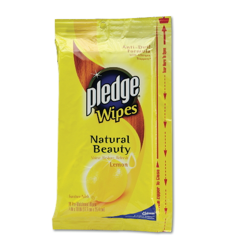 Pledge Wipes SKU#DRKCB121289, Diversey Pledge Wipes SKU#DRKCB121289