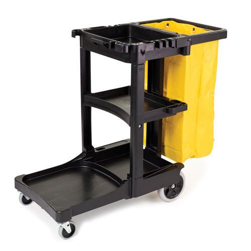 Rubbermaid Janitor Cart Sku Rcp6173 88bla