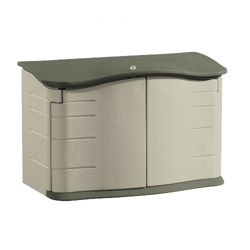 outdoor storage shed sku rhp3748 rubbermaid horizontal outdoor