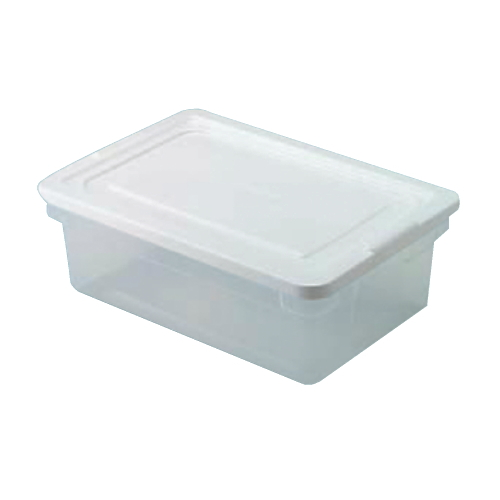Rubbermaid Roughtote Clear Storage Box SKU#RHP3Q24CLE, Rubbermaid