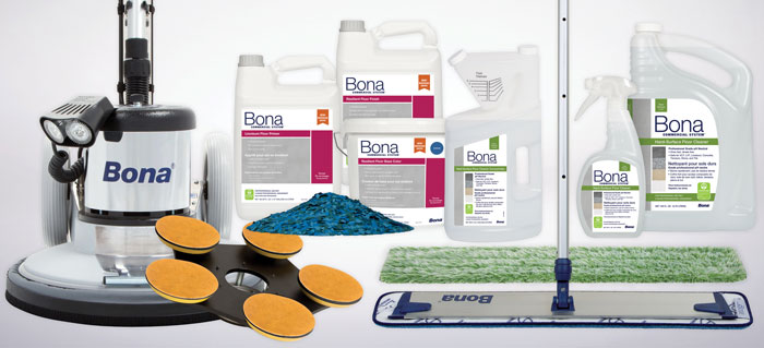 Introducing The New Bona Resilient Floor Renovation & Maintenance System
