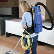 clarke comfort pak 6 backpack vacuum cleaner w optional hepa filter - Hepa Vacuum