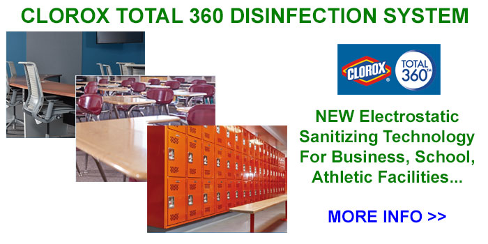 Clorox Total 360 Electrostatic Disinfection System