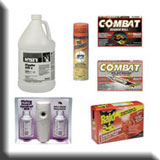 Commercial Cleaning Supplies - Commercial Insecticides & Herbicides