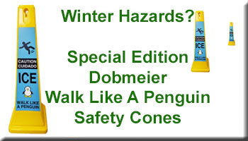 Dobmeier Special Edition Walk Like A Penguin Safety Cones
