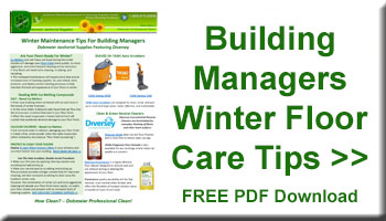 Dobmeier Winter Floorcare Advice For Building Managers