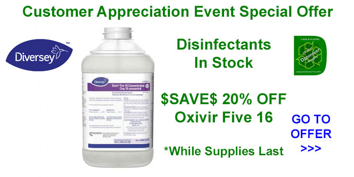 Diversey Oxivir Five 16 On Sale Dobmeier 2020 Online Event