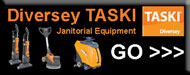 Diversey TASKI Janitorial Cleaning Equipment & Parts