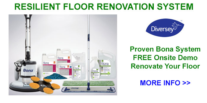 Dobmeier Offers The Bona Resilient Floor Renovation System In WNY