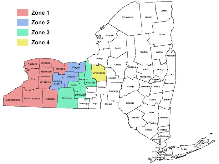 Dobmeier Janitor Supply, Inc. - FREE Dobmeier Delivery Zones In NY State