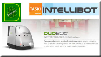 Taski Intellibot DuoBot Sweeper/Scrubber