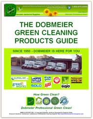 Dobmeier Professional Green Cleaning Products Guide - FREE e-Book