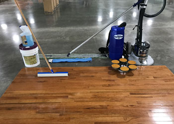 Dobmeier / Diversey Bona Gym Floor Equipment & Supplies Seminar & Demonstration