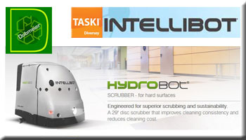 Taski Intellibot HydroBot Hard Surface Scrubber