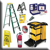 Industrial Janitorial Equipment - Facilities Maintenance & Safety Equipment
