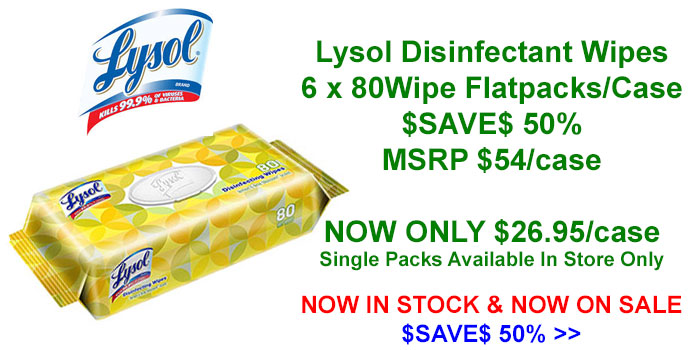 Lysol Disinfectant Wipes For COVID-19 Now On Special Offer