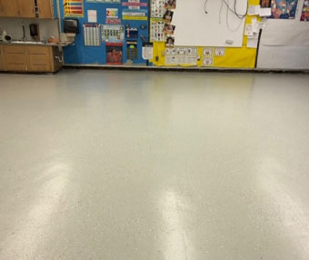 Maryvale School Fully Encapsulated Asbestos Tile Floor Following Renovation