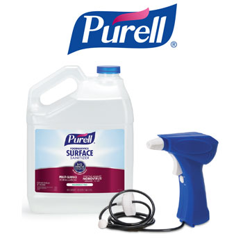 Purell Surface Sanitizer FREE High Capacity Sprayer Promotion