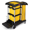 Rubbermaid Commercial HYGEN Microfiber Cleaning Carts