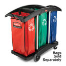 Rubbermaid Commercial Triple Capacity Bag Cart