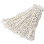 Rubbermaid Commercial Bolt-On Cut-End Rayon Wet Mop Heads