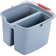 Rubbermaid Commercial Steel Sponge & Mop Double Pails