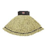 Rubbermaid Commercial Maximizer Microfiber Blend Wet Mop Heads