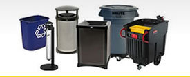 Rubbermaid Commercial Waste Containers
