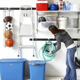 rubbermaid garage storage systems