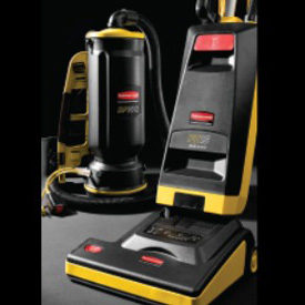 Rubbermaid Upright Commercial Vacuum Cleaners
