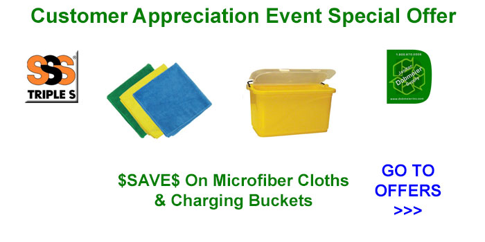 SSS Microfiber & Bucket Offers In Dobmeier 2020 Online Event