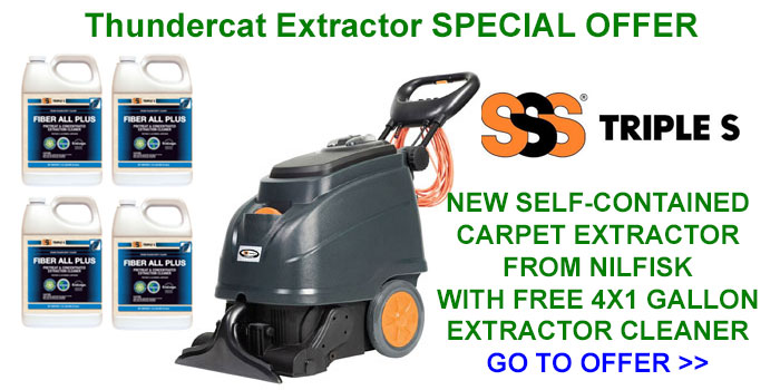 SSS Thundercat Carpet Extractor Special Offer
