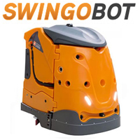 TASKI Intellibot SwingoBot 2000 Robotic Floor Scrubber