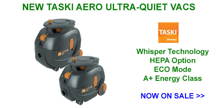 TASKI AERO Ultra Quiet Vacuum Cleaner Distributor, NY